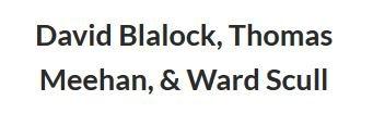 Blalock, Meehan, & Scull