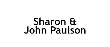 Sharon and John Paulson