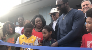 Recreation renovation: Michael Vick renovates Teen Center in his old Boys & Girls Club
