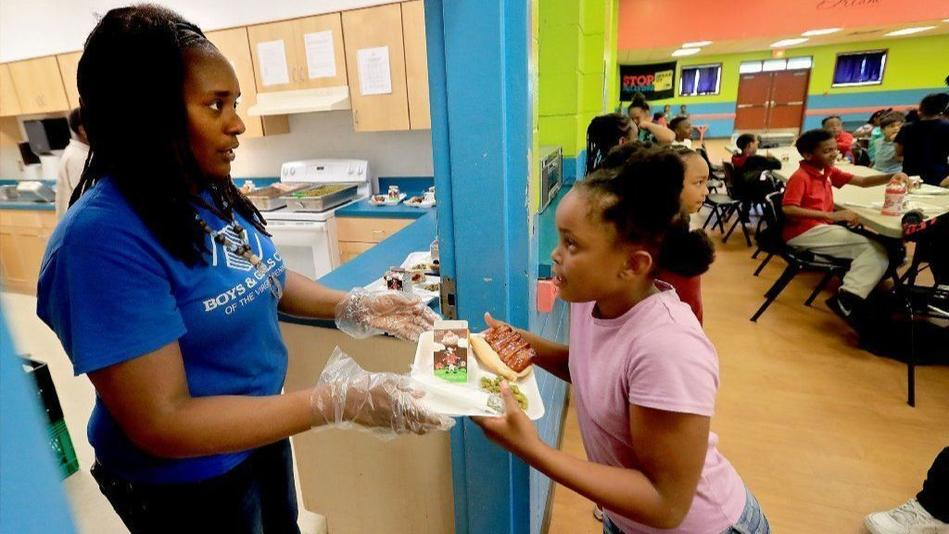 When school is closed, other options open to provide meals to those in need