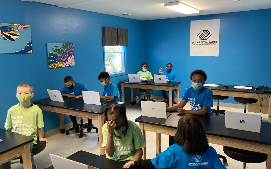 New Cox Innovation Lab at Boys & Girls Club Provides Opportunities for Local Kids